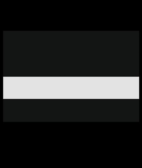 "IPI Laserthins Matte Clear/Black 1/32"" Reverse Engraving Plastic"