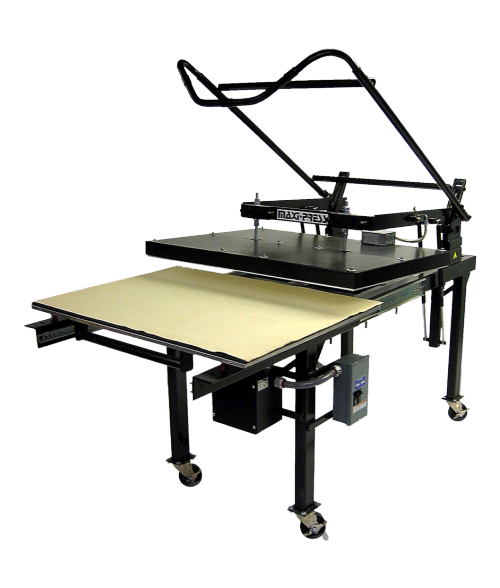 "GeoKnight MaxiPress 32"" x 42"" Manual Heat Press"