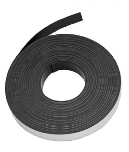 "JP 1"" x 200' .030"" Magnetic Tape with Adhesive"