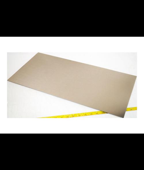 """Bright Silver .018"""" Nickel Sheet"""