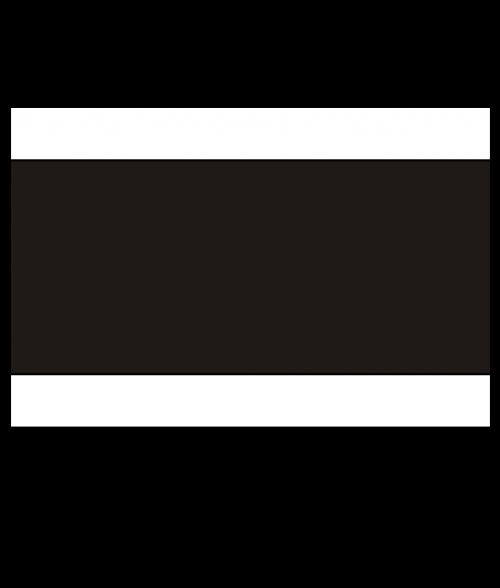 """Norplex White/Black/White 1/8"""" Phenolic"""