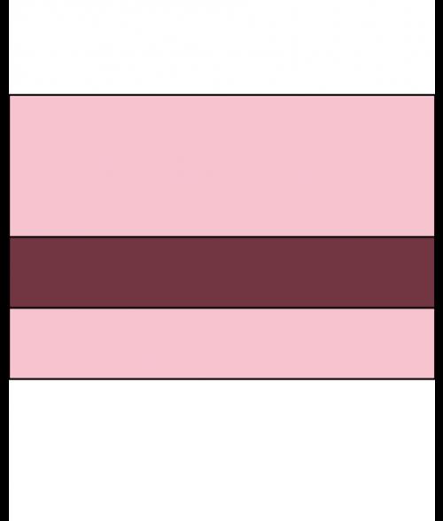 "IPI Pastel Matte Pink Ice/Wineberry 1/16"" Engraving Plastic"