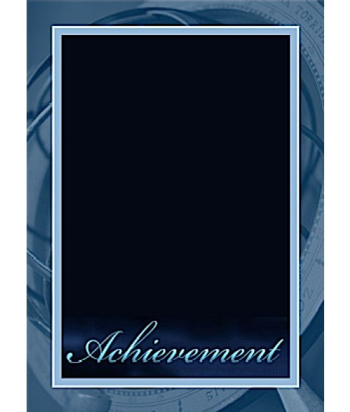 "7"" x 10"" Achievement Plaque Plate"