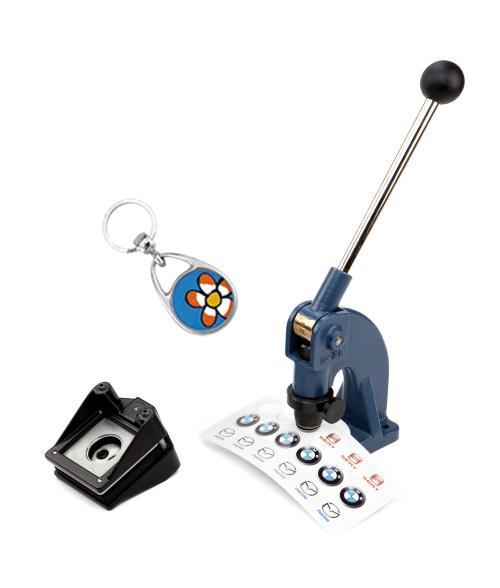 Punch N Press Kit (30mm Circle Key Chains)