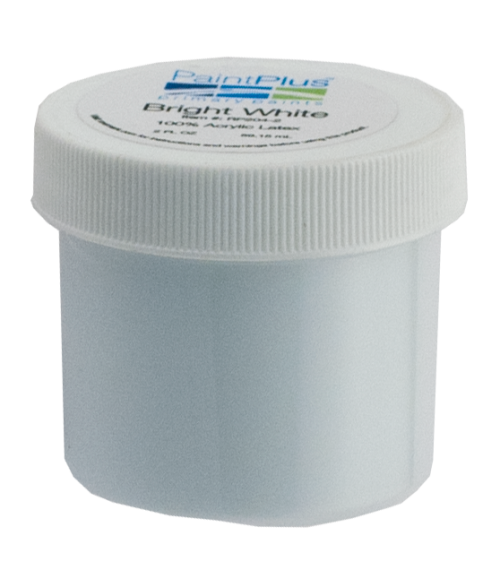 Rowmark PaintPlus Bright White 2oz Primary Paint Fill