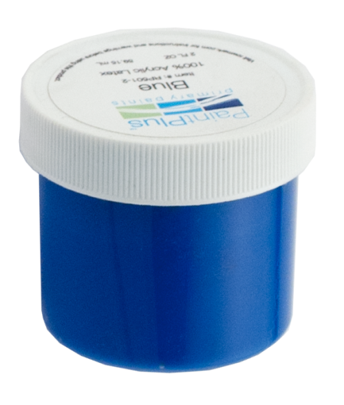 Rowmark PaintPlus Blue 2oz Primary Paint Fill