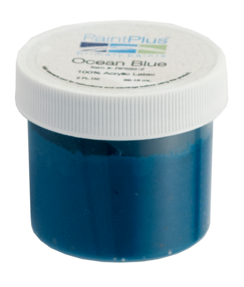 Rowmark PaintPlus Ocean Blue 2oz Primary Paint Fill