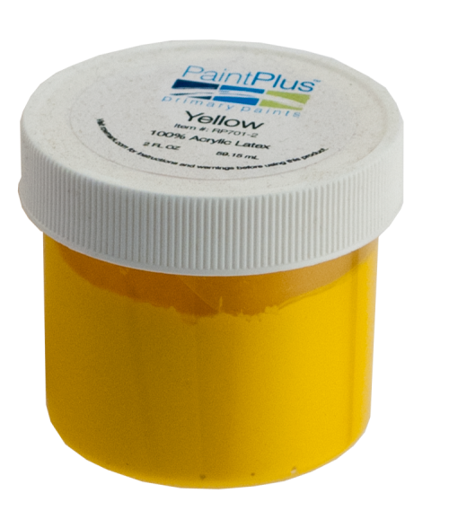 Rowmark PaintPlus Yellow 2oz Primary Paint Fill