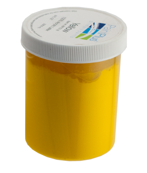 Rowmark PaintPlus Yellow 8oz Primary Paint Fill