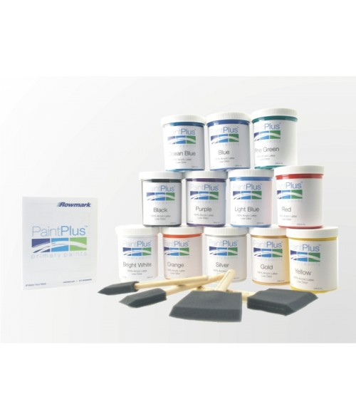 Rowmark PaintPlus Primary Paint 8oz Kit