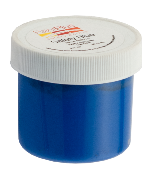 Rowmark PaintPlus Safety Blue 2oz Paint Fill