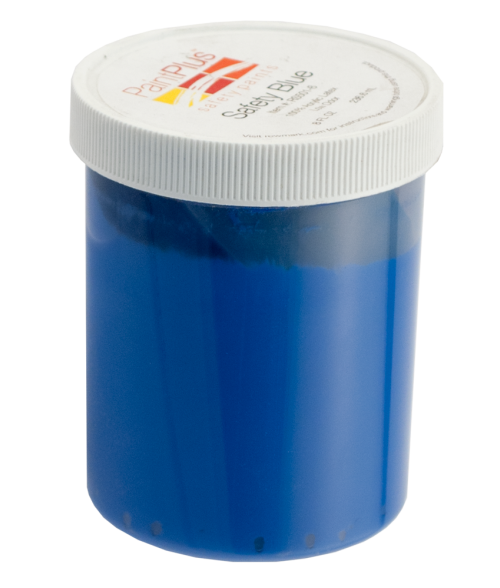 Rowmark PaintPlus Safety Blue 8oz Paint Fill