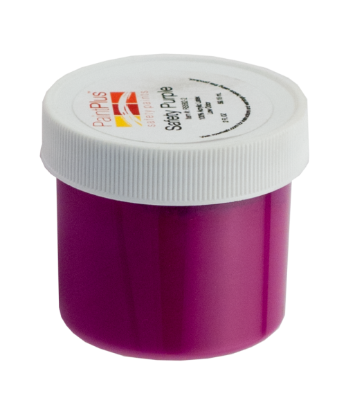 Rowmark PaintPlus Safety Purple 2oz Paint Fill