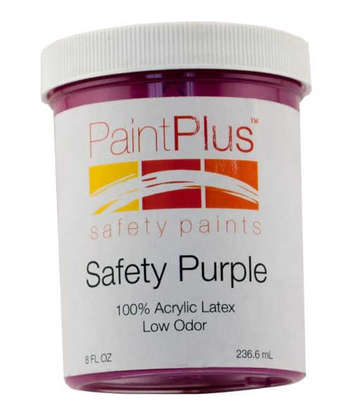 Rowmark PaintPlus Safety Purple 8oz Paint Fill