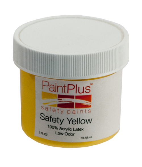 Rowmark PaintPlus Safety Yellow 2oz Paint Fill