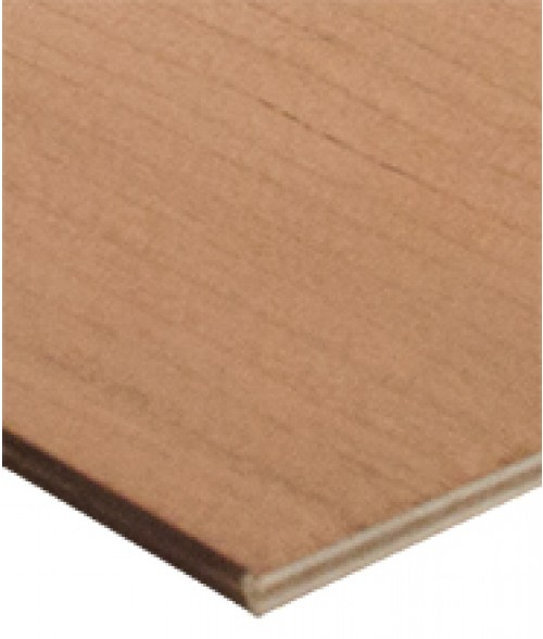 "Rowmark Hardwoods Cherry 12"" x 24"" x 1/4"" Laserable Wood Sheet"