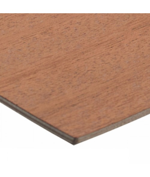 "Rowmark Hardwoods Mahogany 12"" x 24"" x 1/4"" Laserable Wood Sheet"