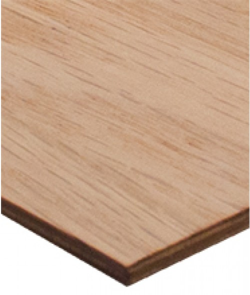 "Rowmark Hardwoods Red Oak 12"" x 24"" x 1/4"" Laserable Wood Sheet"