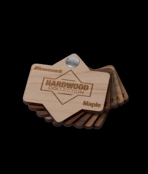 Rowmark Hardwoods Swatch Fan