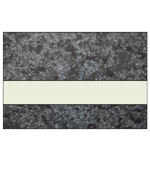"IPI Architectural Stones Gloss Deep Charcoal Marble/Bone White 1/16"" Engraving Plastic"