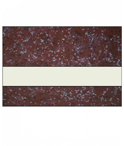 "IPI Architectural Stones Gloss Wild Cranberry Marble/Bone White 1/16"" Engraving Plastic"