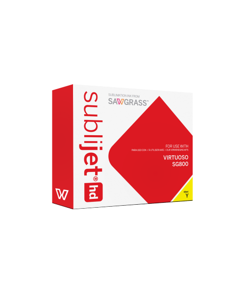 Sawgrass Sublijet-HD Yellow 68ml Ink Cartridge (Virtuoso SG800)