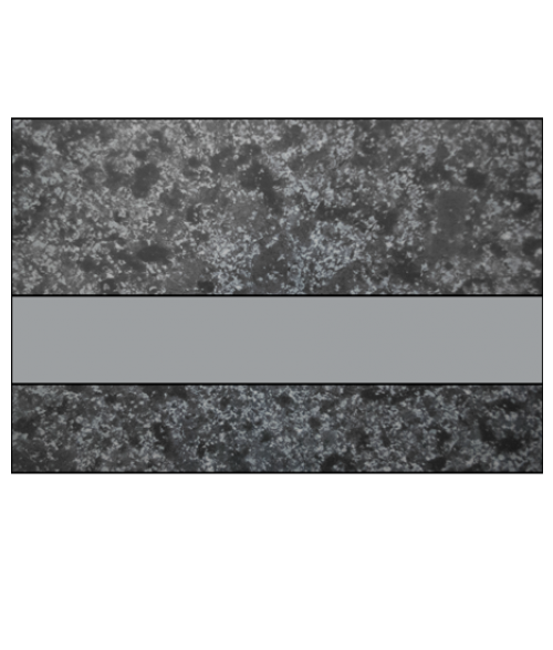 "IPI Architectural Stones Matte Deep Charcoal Marble/Pewter 1/16"" Engraving Plastic"