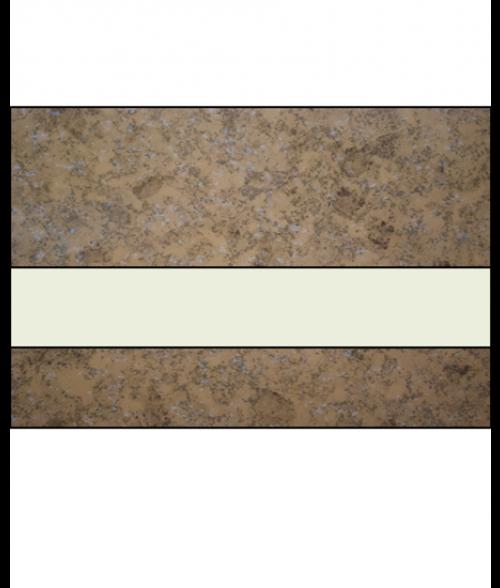 "IPI Architectural Stones Matte Mocha Marble/Bone White 1/16"" Engraving Plastic"