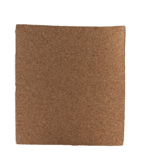 "4-1/4"" x 4-1/4"" Square Cork Back"