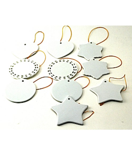 Porcelain Ornament Sample Pack