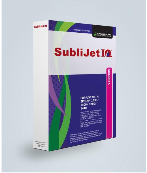 Sawgrass Sublijet-IQ Magenta 90ml Ink Bag (Epson 1400|1430|1280)
