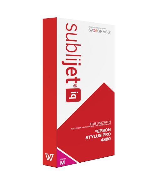 Sawgrass Sublijet-IQ Magenta 220ml Ink Cartridge (Epson 4880)
