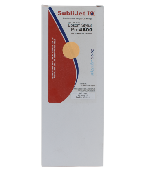 Sawgrass Sublijet-IQ Light Cyan 220ml Ink Cartridge (Epson 4800)
