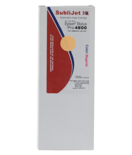 Sawgrass Sublijet-IQ Magenta 220ml Ink Cartridge (Epson 4800)