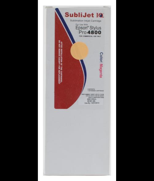 Sawgrass Sublijet-IQ Magenta 220ml Ink Cartridge (Epson 4800)