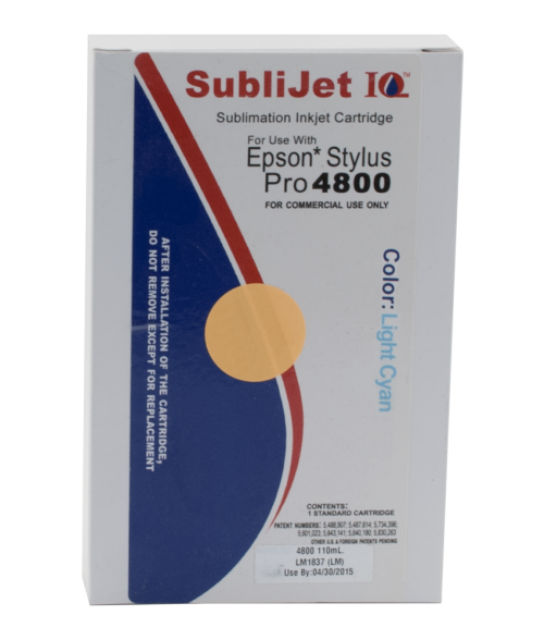 Sawgrass Sublijet-IQ Light Cyan 110ml Ink Cartridge (Epson 4800)