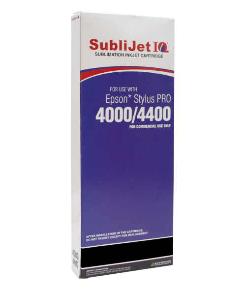 Sawgrass Sublijet-IQ Black 220ml Ink Cartridge (Epson 4000)