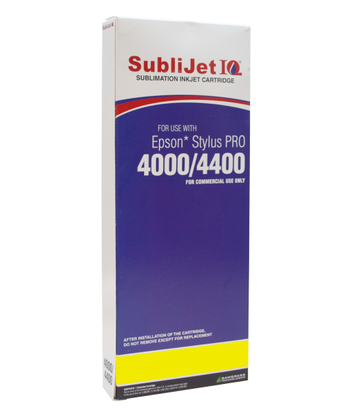 Sawgrass Sublijet-IQ Yellow 220ml Ink Cartridge (Epson 4000)