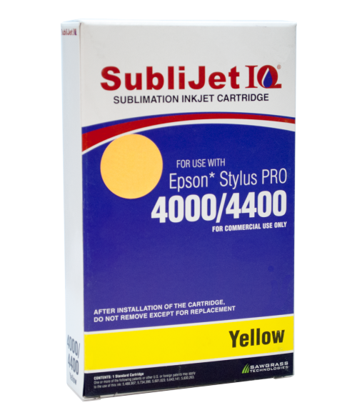 Sawgrass Sublijet-IQ Yellow 100ml Ink Cartridge (Epson 4000)