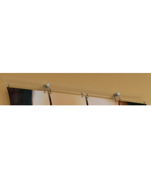 "Subli-Mural 24"" Hanging Bar for 6"" Tiles"