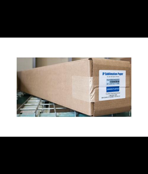 "Johnson Plastics 44"" x 250' Sublimation Paper Roll"