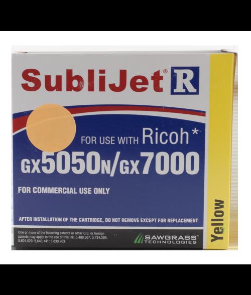 Sawgrass Sublijet-R Yellow 60ml Ink Cartridge (Ricoh GX7000|GX5050N)