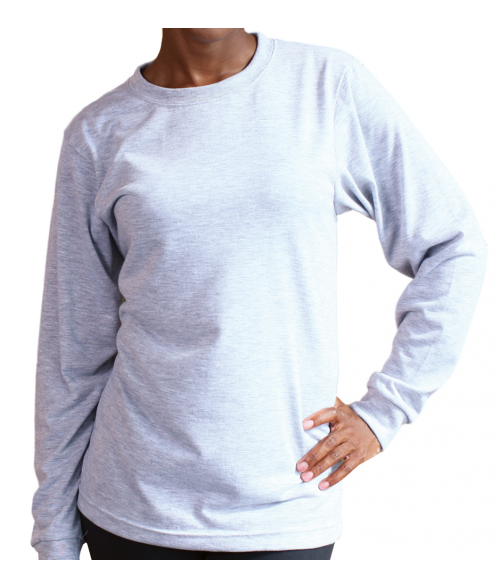 Vapor Adult Ash Heather Crew Sweatshirt (XL)