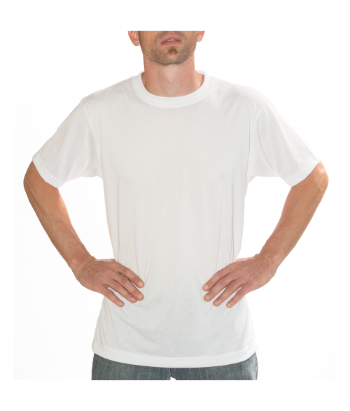 Vapor Adult White Basic Tee (L)
