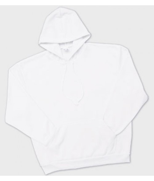 Vapor Adult White Hoodie (L)