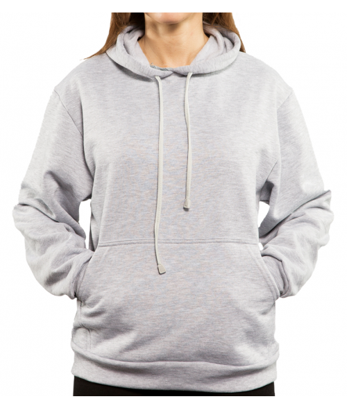 Vapor Adult Ash Heather Hoodie (L)