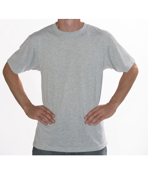Vapor Adult Ash Heather Basic Tee (2X)