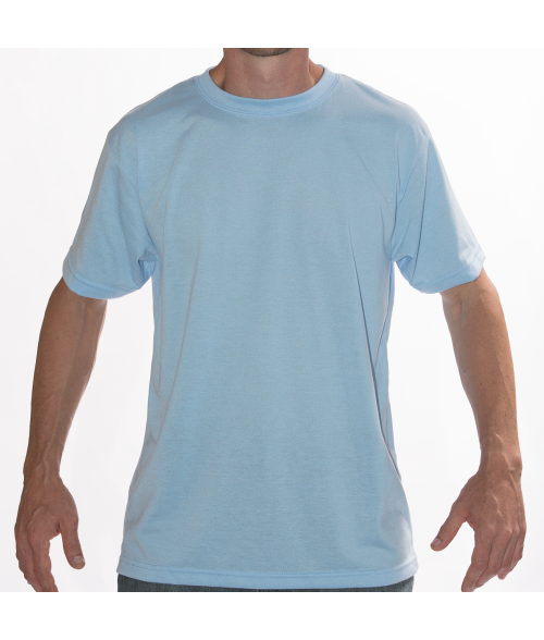 Vapor Adult Blizzard Blue Basic Tee (L)