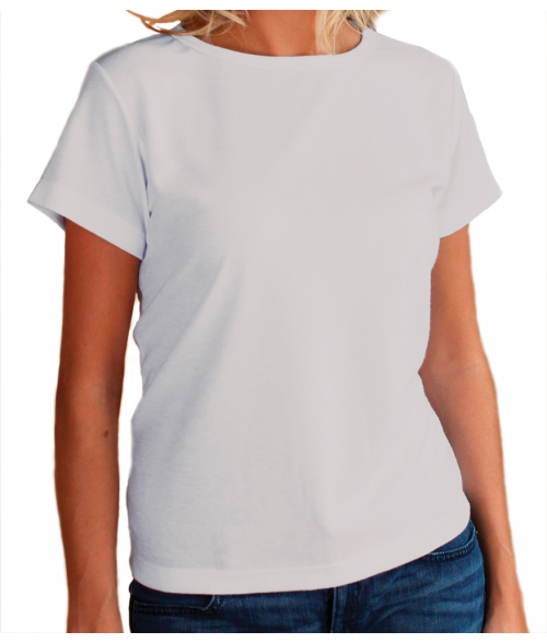 Vapor Ladies White Classic Tee (XL)