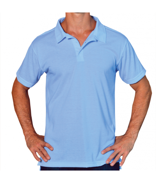 Vapor Adult Blizzard Blue Basic Polo (L)